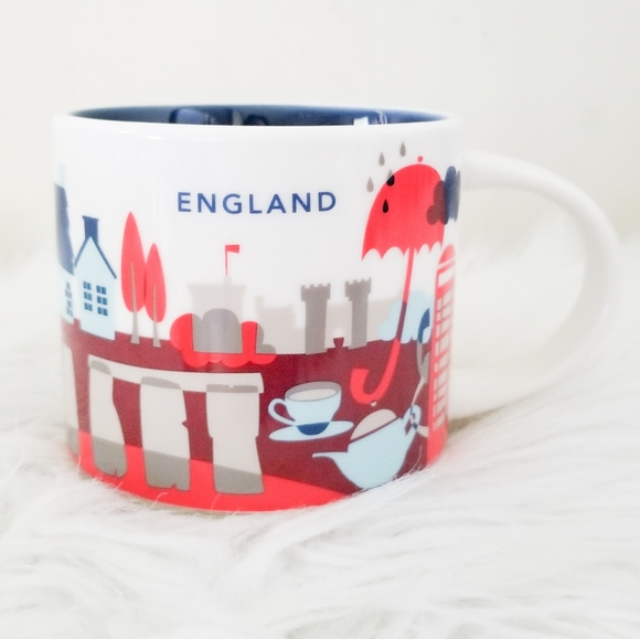 Starbucks You Are Here collection Mug England …